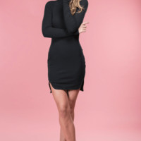 Becca Black Knit Dress