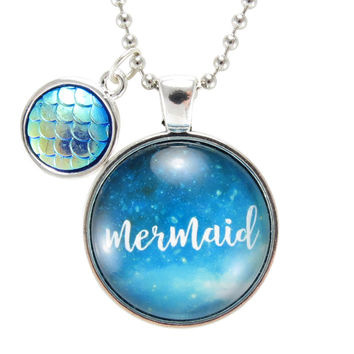 Be A Mermaid Necklace