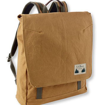Field Canvas Day Pack: Travel Backpacks | Free Shipping at L.L.Bean
