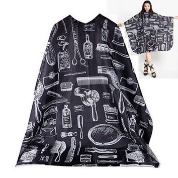 Adult Salon Barbers Hairdressing Hairdresser Hair Cutting Cape Gown Clothes [9222178756]
