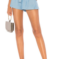 L'Academie The Laurent Short in Robin Blue | REVOLVE