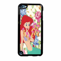 Disney The Little Mermaid Ariel Floral Disney Princess iPod Touch 5th Generation Case