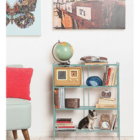 Turquoise Brimfield Bookcase - Urban Outfitters