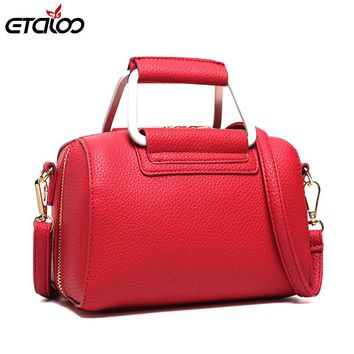 Women leather handbag the new 2017 women bag shoulder bag Messenger bag