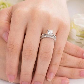 2 pc Engagement Ring