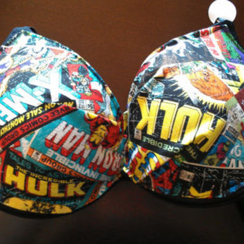 marvel comics push-up bra or regular