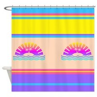 Beach Sunset Shower Curtain> Shower Curtains> We Tees You