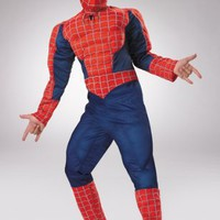 Child Deluxe Spiderman 3 Muscle Costume