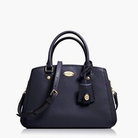 PRADA Women Leather Tote Handbag Shoulder Bag