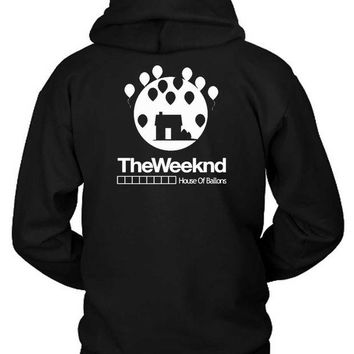 DCCKG72 The Weeknd House Of Ballons Two Hoodie Two Sided