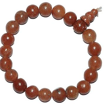 Sacral Chakra Carnelian Wrist Mala Prayer Bracelet for Meditation, Gift for Him