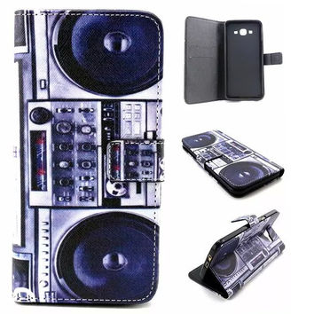 Retro Classic Radio Leather Case Cover Wallet for iPhone & Samsung Galaxy