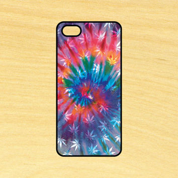 Hippy Leaves Tie Dye Phone Case iPhone 4 / 4s / 5 / 5s / 5c /6 / 6s /6+ Apple Samsung Galaxy S3 / S4 / S5 / S6