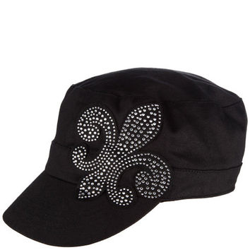 Payless, Women's Fluer De Lis Cadet Hat, Women's, Accessories