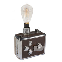 Vintage Revere Movie Camera Mini Lamp