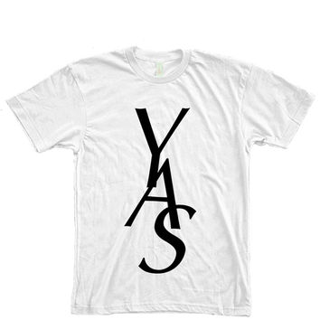 YAS Typography Women's T-Shirt
