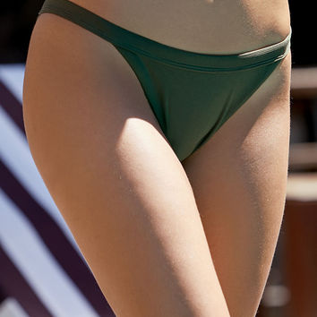 LA Hearts Ribbed Cheeky Bikini Bottom at PacSun.com