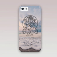 Ganesha Spiritual Phone Case For - iPhone 6 Case - iPhone 5 Case - iPhone 4 Case - Samsung S4 Case - iPhone 5C