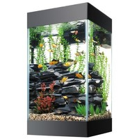 Aqueon Column Deluxe Aquarium Tank Kit 15 gallon