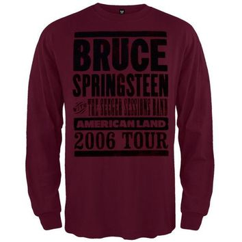 ICIK8UT Bruce Springsteen Americanland 06 Tour Long Sleeve T-Shirt