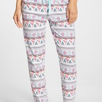 Women's COZY ZOE Pizza & Donut Print Pants,