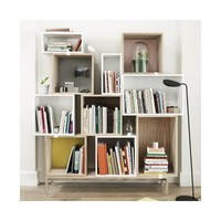 Muuto - Stacked Shelf (with Backing)