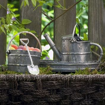 Watering Can Creamer Set
