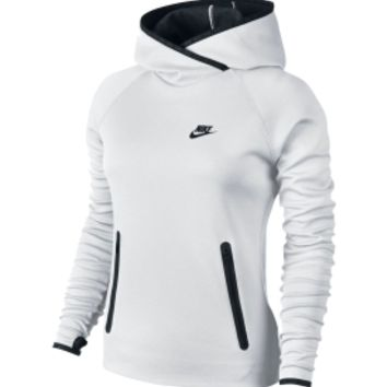 Nike Women's Tech Fleece Funnel Hoodie from DICK'S Sporting Goods