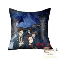 New Parasyte Anime High Quality Dakimakura Square Pillow Cover GZFONG04