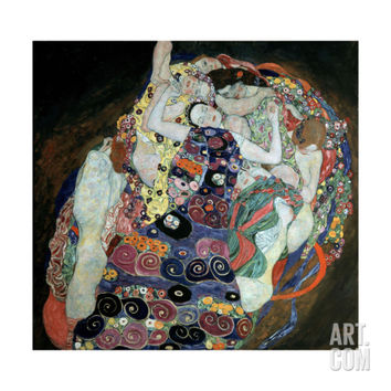 The Virgin, 1912-1913 Giclee Print by Gustav Klimt at Art.com