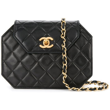 Chanel Vintage Turn-lock Octagonal Bag - Farfetch