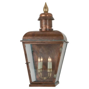 Hampshire 3/4 4-Light Lantern, Large, Outdoor Wall/Sconces