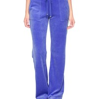 Bling Velour Bootcut Pant by Juicy Couture
