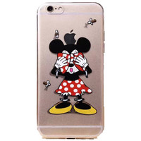 "Apple iPhone 6 Disney's Minnie Mouse clear case iPhone 6/6s (4.7"")"