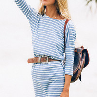 Nautical Stripe Dress | SABO SKIRT