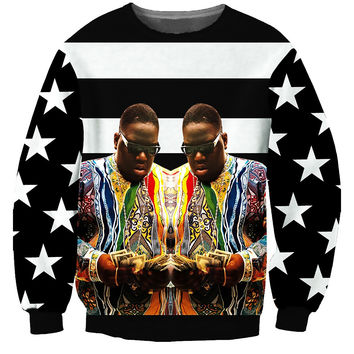 Biggie Coogi Stripes Sweatshirt