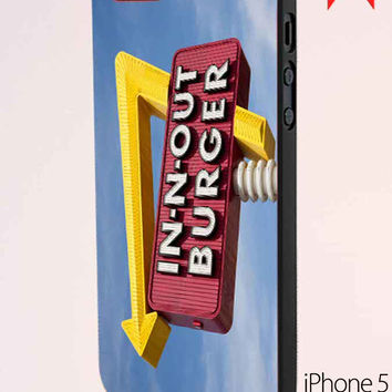 In N Out Burger Funny iPhone 5 Case