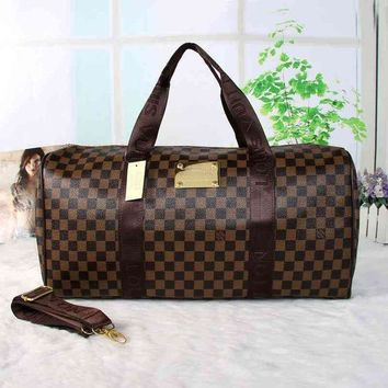 PEAPNI LV Women Travel Bag Leather Luggage Travel Bags Tote Handbag