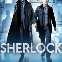 Sherlock Holmes and Dr Watson Poster 11x17