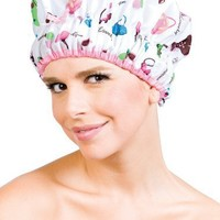 Betty Dain Stylish Design Mold Resistant Shower Cap, The Fashionista Collection,