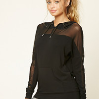 Active Mesh Panel Pullover