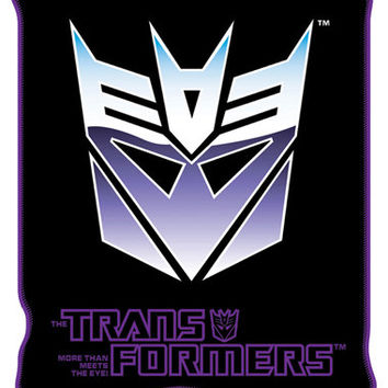 Transformers 'Decepticon' Fleece Blanket
