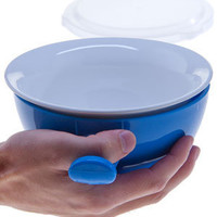 Cool Touch Microwave Bowl: Heat and eat all in the same bowl.