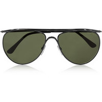 Tom Ford Aviator-style metal sunglasses – 56% at THE OUTNET.COM