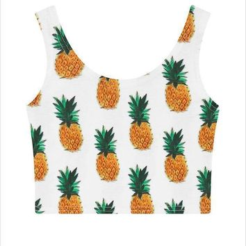 CREYON Day First Pineapple Tank Top Vest