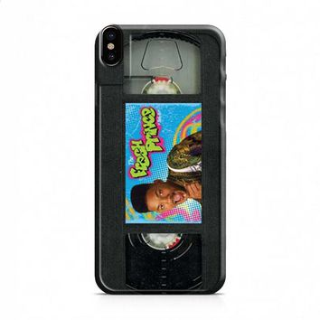 Fresh Prince vhs tape iPhone X case