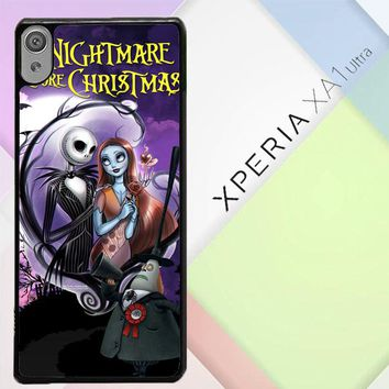 Jack And Sally Muertitos The Nightmare Before Christmas C0092 Sony Xperia XA1 Ultra Case