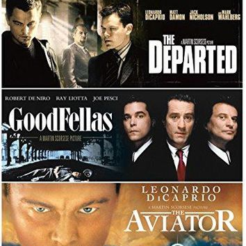Ray Liotta & Leonardo DiCaprio & Martin Scorsese-Martin Scorsese: Triple Feature (Goodfellas / The Aviator / The Departed)