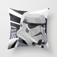 Storm Throw Pillow by Liam Brazier