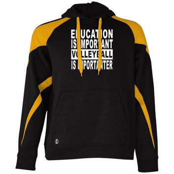 EDUCATION-IMPORTANT-VOLLEYBALL 229546 Holloway Colorblock Hoodie